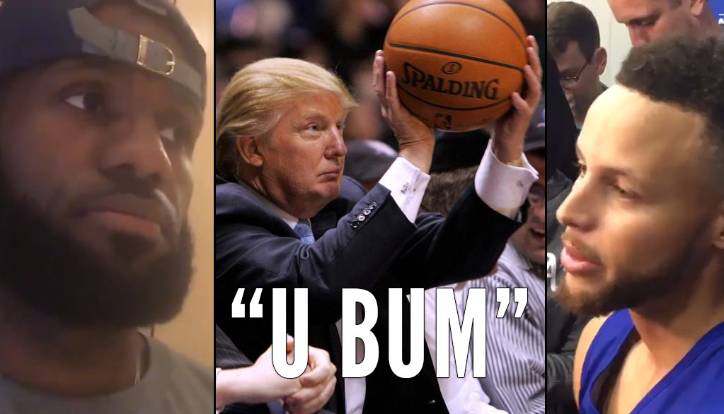 NBA Players React To Donald Trump Uninviting Steph Curry To The White House