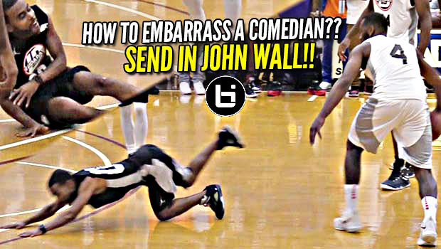 John Wall Sends Lil Duval to Floor FACE FIRST in Front of Ludacris & Packed House!