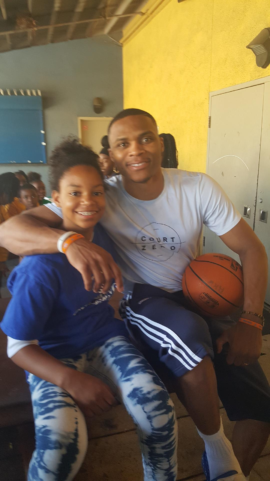 Russ with Kid
