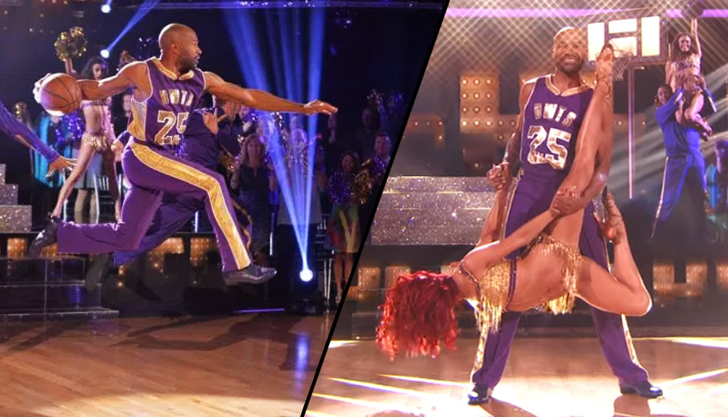 Derek Fisher Might Be The Best NBA Dancer Ever on Dancing With The Stars