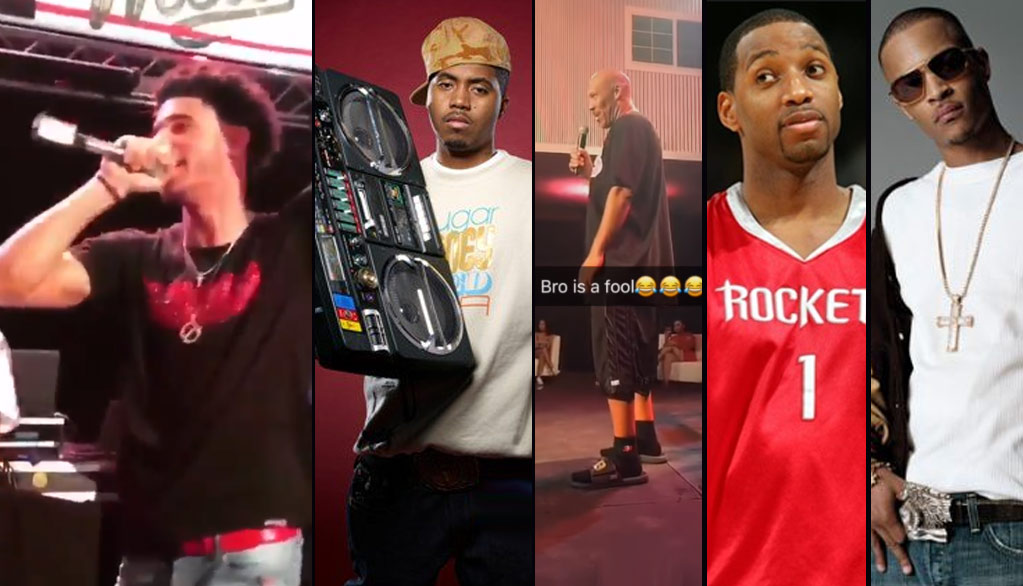Nas' Manager, TI, T-Mac & LaVar Ball Respond To Lonzo Ball's Comment About Nas