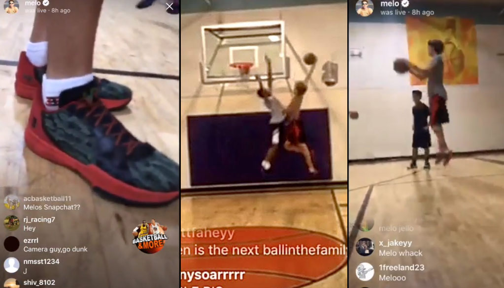 LaMelo Ball Wears His $395 Sneakers While Having A Dunk-Off & Doing The 2K Lag