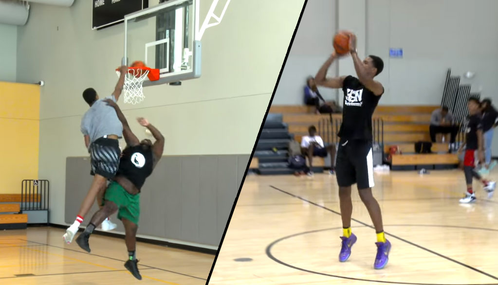10 Minutes Of Shareef O'Neal Dominating Summer Pick-Up Games