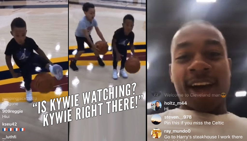 "Isaiah Thomas Says He Can Average ""25 In His Sleep"" During Adorable IG Live Video With His Kids"