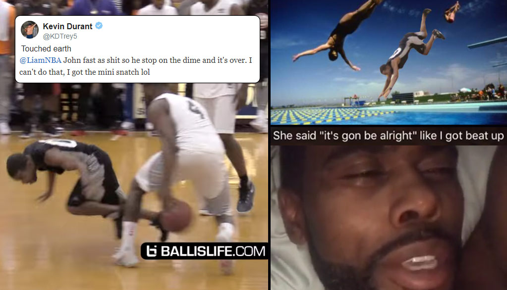Internet Hilariously Reacts To John Wall Breaking Lil Duval's Ankles at 2017 Ludacris Celeb Game