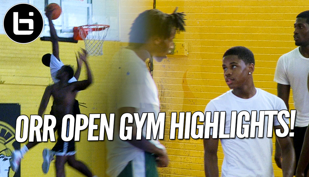 Chase Adams, Raekwon Drake! Defending state champion Chicago Orr Open Gym Highlights!