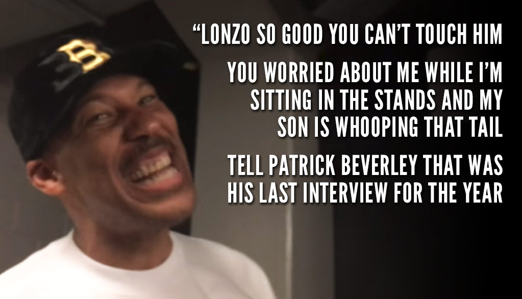 LaVar Ball's Postgame Rant After Lonzo's Near Triple-Double vs the Suns