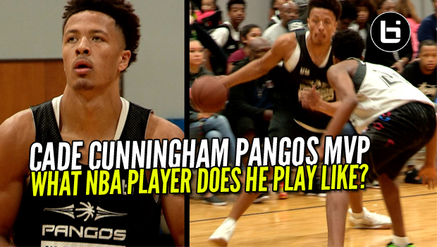 """He's a Pro"" Cade Cunningham Is MVP of Pangos All South Camp! Raw Highlights."