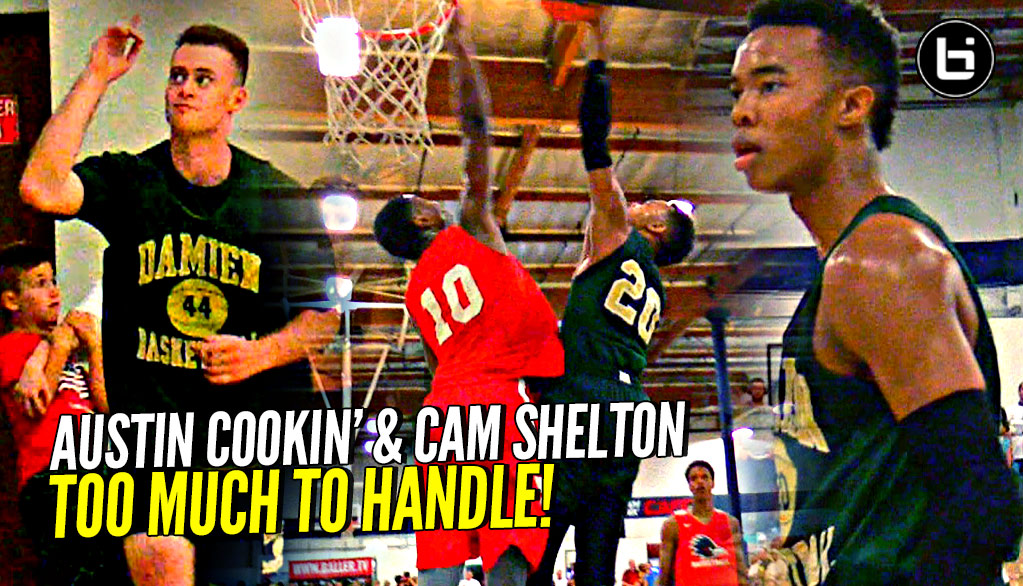Cameron Shelton & Austin Cookin' DOING WORK vs Crossroads!! Damien Guards Are NICE!!