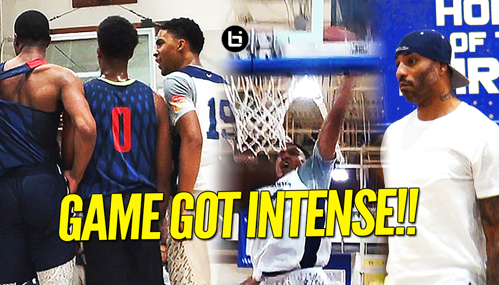 Sierra Canyon vs Findlay Prep Got INTENSE in Front Of Pippen, Martin, & Fisher!! Full Highlight!