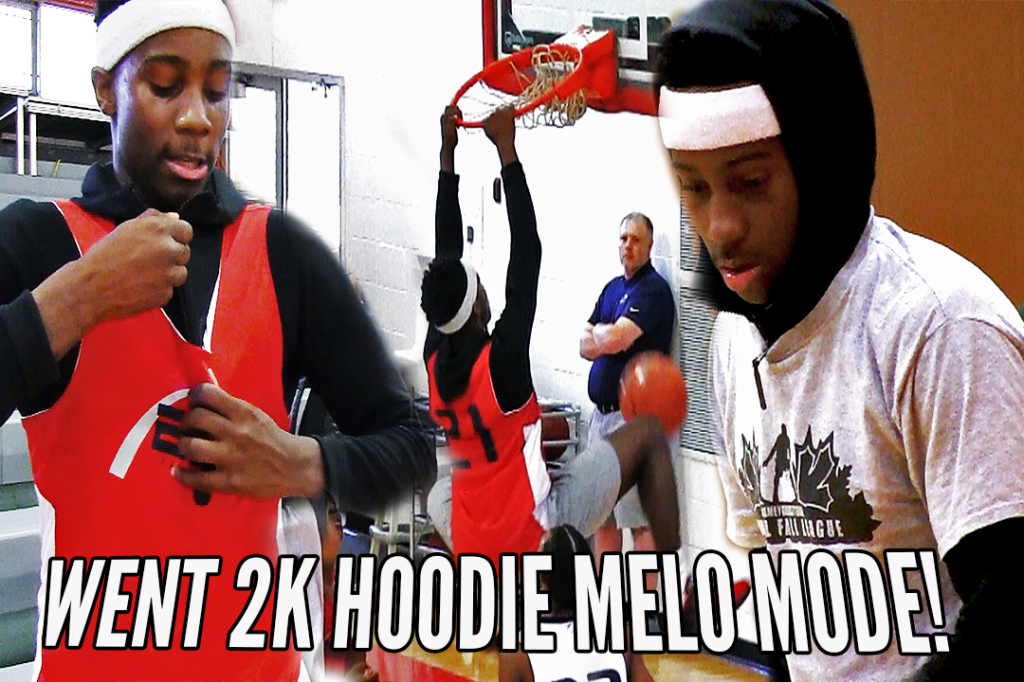 Mario Mckinney Attempts The HOODIE MELO And Didn't Disappoint!! Fall League Highlights!