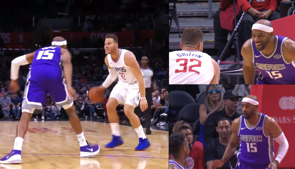 Blake Griffin vs Vince Carter + Top 10 Plays From The MiLos Angeles Clippers vs The Kings