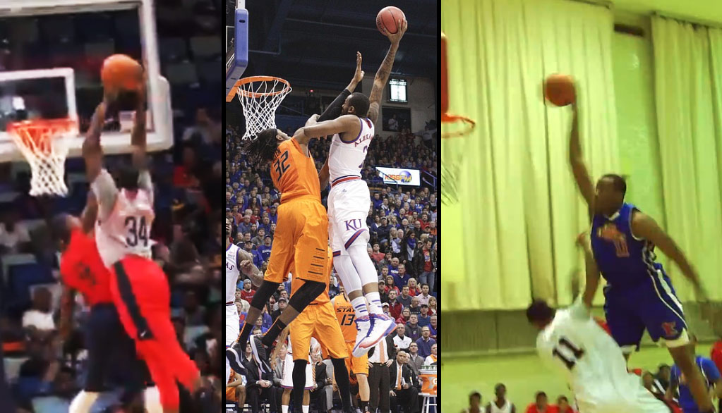 Rajon Rondo Tries To Block A Dunk By Cliff Alexander And Gets Posterized