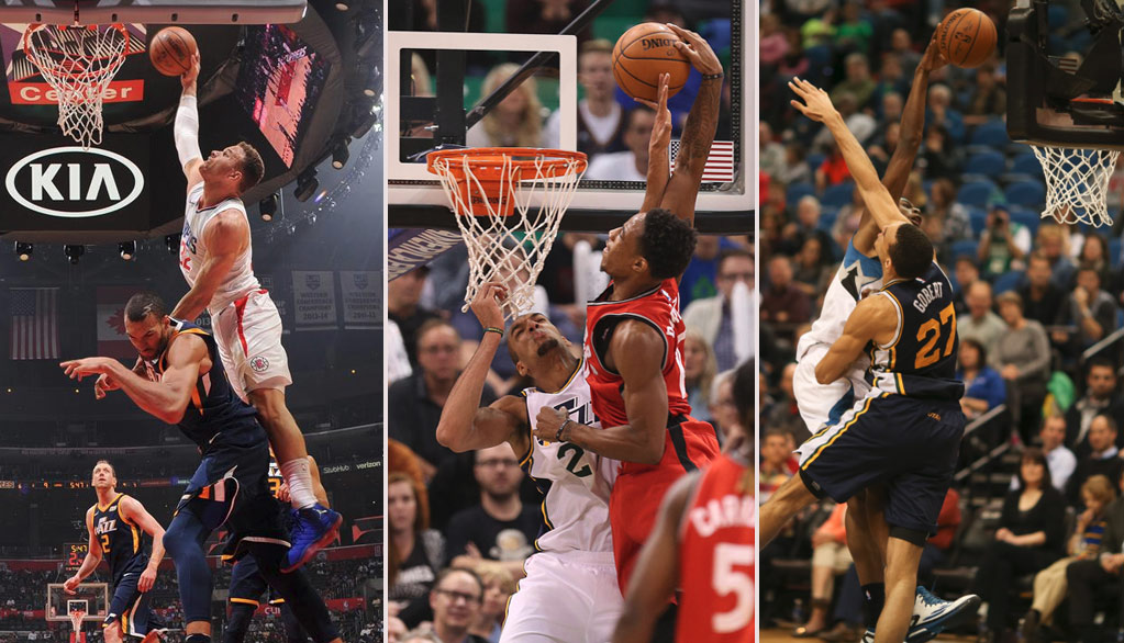 Where Does Blake Griffin's Dunk On Rudy Gobert Rank On The Best Posters Of The Stifle Tower