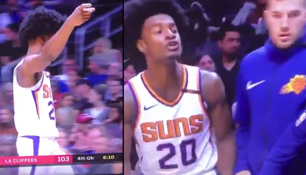 Did Josh Jackson Just Shoot At A Fan Then Say FU During The Suns 42-Point Loss?