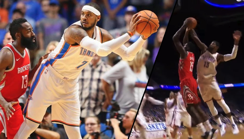 Full Highlights of Carmelo Anthony & Paul George's Thunder Debut