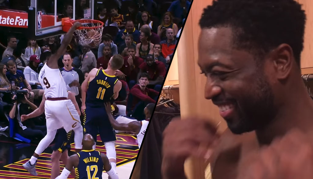 """Dwyane Wade Calls Reverse Dunk An """"Out-Of-Body-Experience"""""""