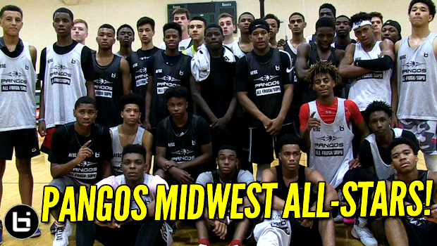 Pangos Midwest Top 30 All-Star Game Highlights! Tyler Beard, Adam Miller, Patrick Baldwin, Ahmad Bynum!