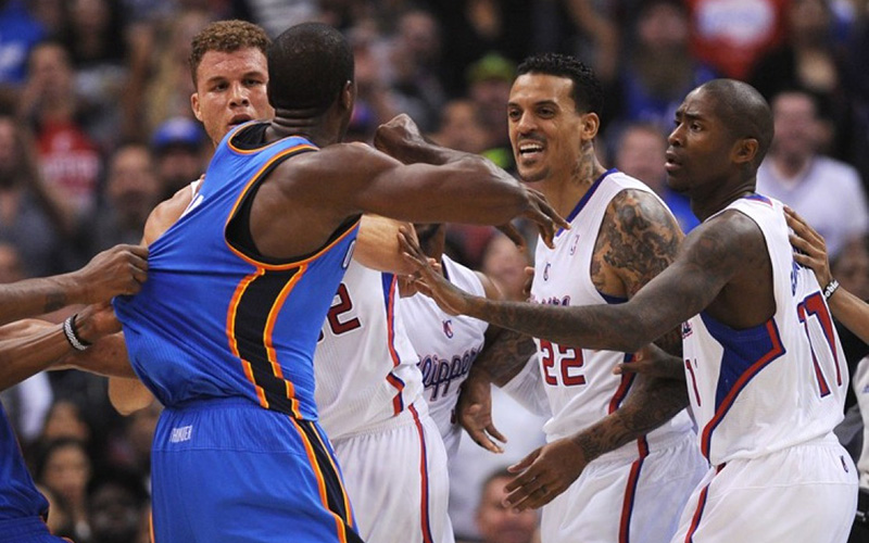 serge-ibaka-matt-barnes-fight