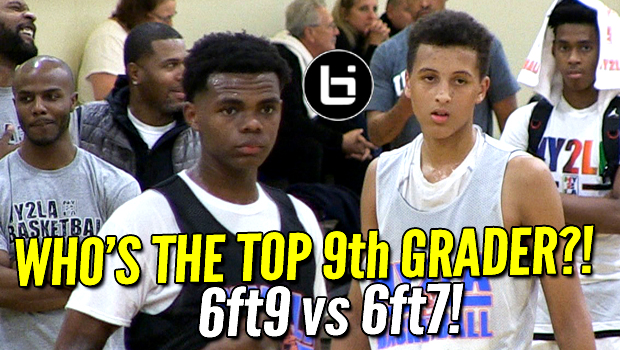 Patrick Baldwin Jr vs Michael Foster! Elite 9th Graders Head to Head at NY2LA Futures Camp!