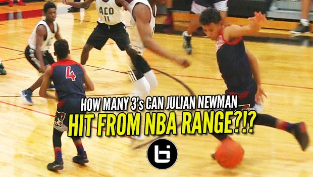Julian Newman Hits 8 THREES from NBA RANGE + 35 Points in 1st Game of Season!!