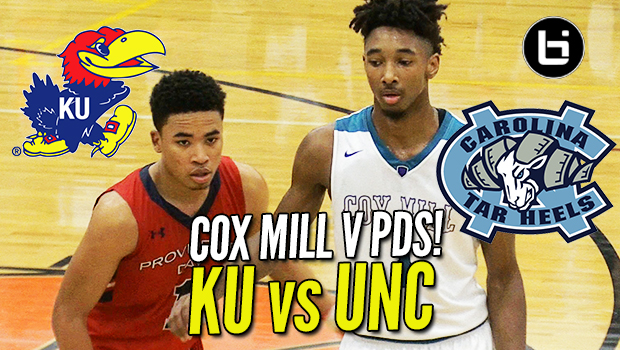 Devon Dotson vs UNC Commit in Front of SOLD OUT Crowd! Game Highlights!