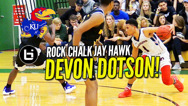 Devon Dotson Ready to Lead KU to Another BIG XII Title! Phenom Showcase Highlights!