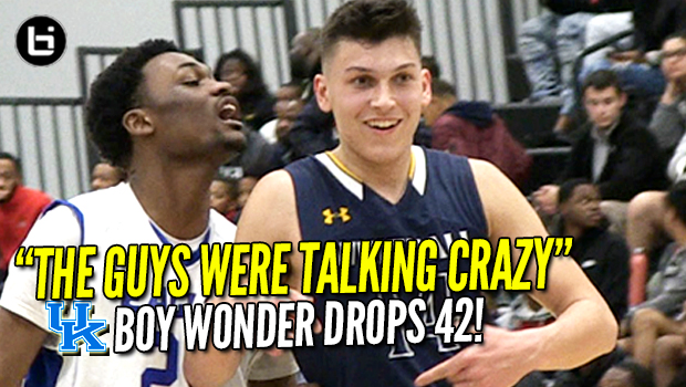 """The Guys Were TALKING CRAZY!"" KENTUCKY commit Tyler Herro scores 42 Points! Full Highlights!"