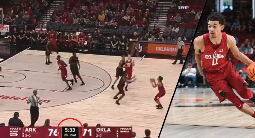 Trae Young Puts Up 28 & 5 In The Sooners First Loss Of The Season