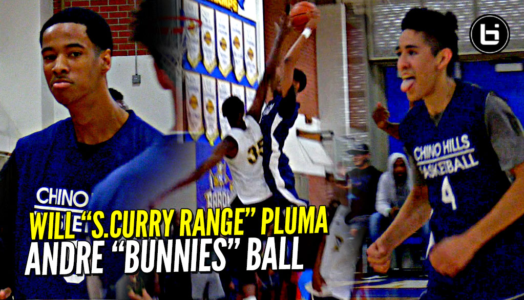 "Will Pluma & Andre Ball NOT MESSIN' AROUND!! Will ""Steph Curry Range"" Pluma  & Andre ""Bunnies"" Ball!"