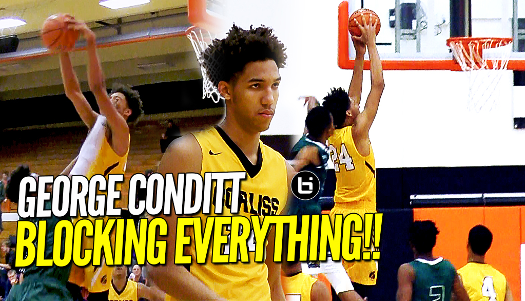 This Dude Is BLOCKING EVERYTHING!! Iowa State Commit George Conditt Goes at It Against Whitfield!!