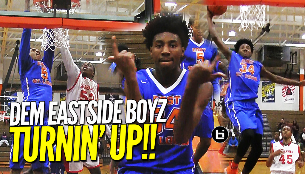 THEM EASTSIDE BOYZ DON'T PLAY!! Joe Reece & Terrence Hargrove Comeback Against North Chicago!!