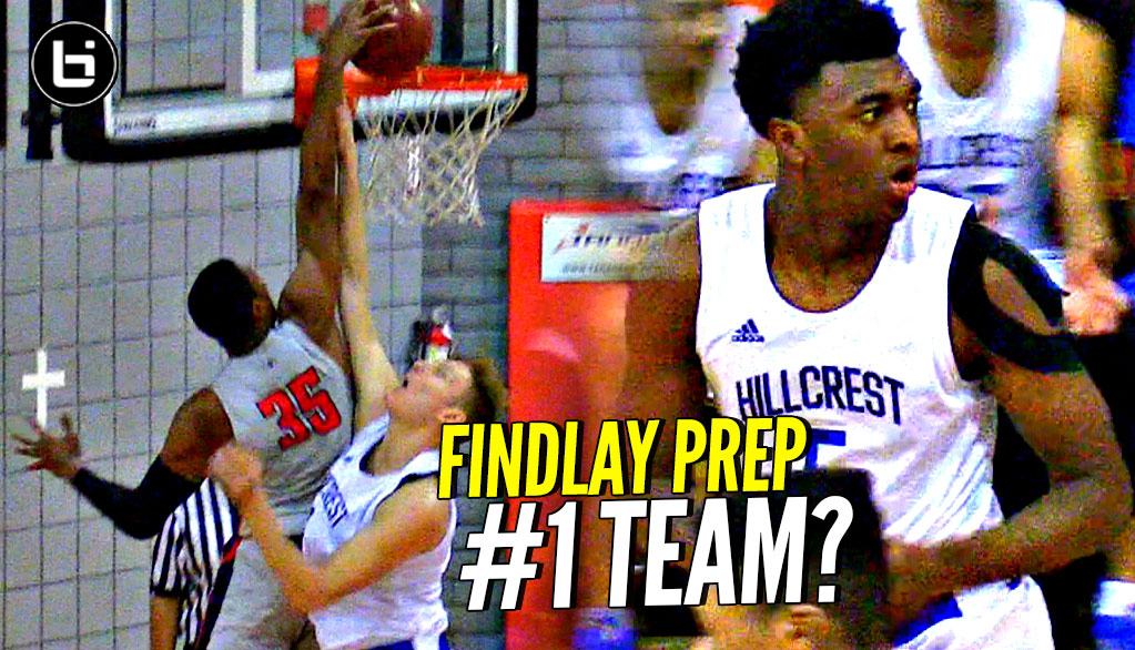 Findlay Prep TOO MUCH for Hillcrest! Reggie Chaney, Connor Vanover vs Kyree Walker, Jeron Artest