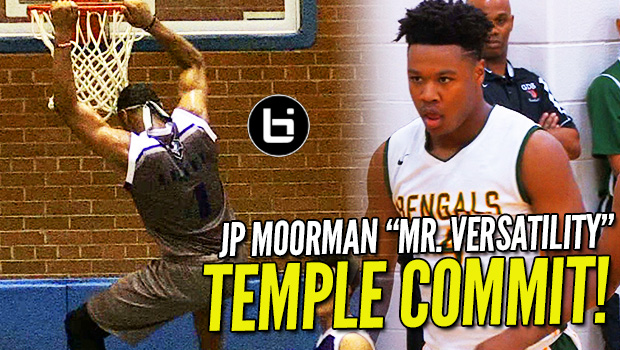 "Temple's ""Point Forward"" of the Future! JP Moorman Ultimate Highlights!"