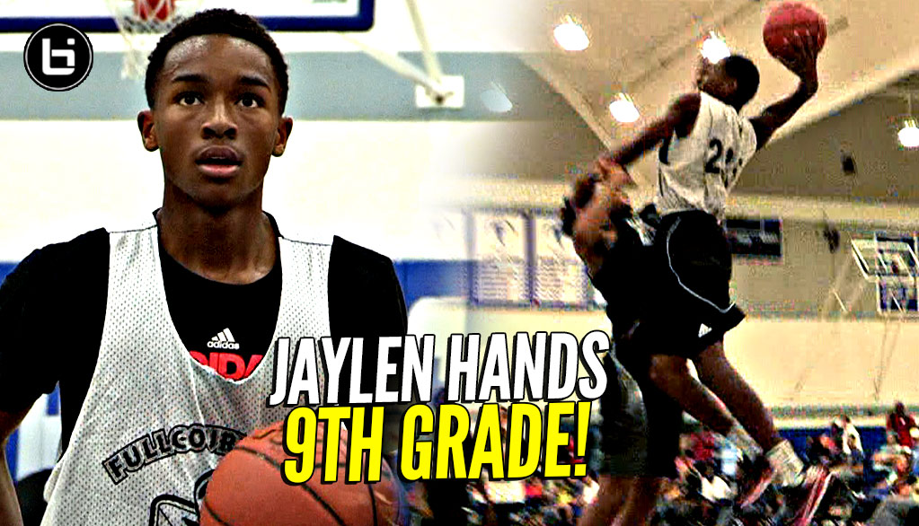 Jaylen Hands In 9th Grade! The Baby Faced Assassin! Was STILL Trying To YAM On Dudes!
