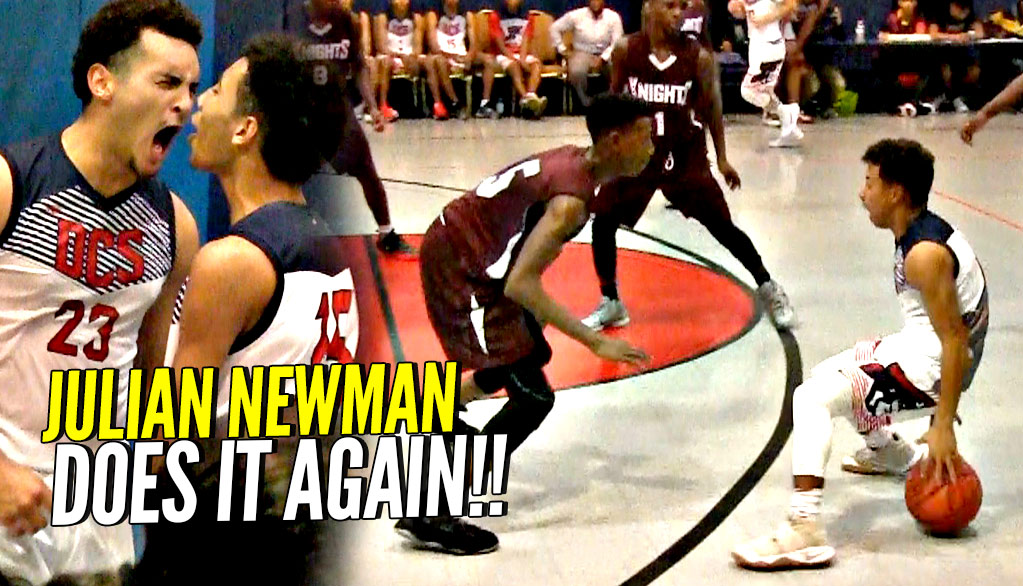 Julian Newman Goes STEPH CURRY MODE! 32 Points 8 Threes 8 Assists & THE WIN!