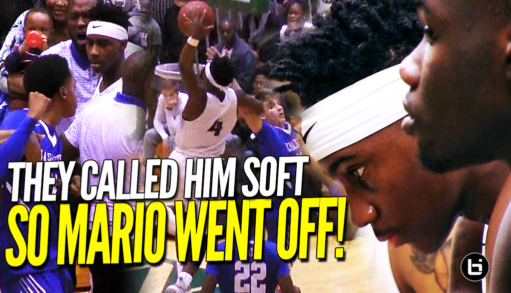 THEY CALLED HOODIE RIO SOFT!! Drops 30 Points in EPIC Comeback Against Charleston! Full Highlights!