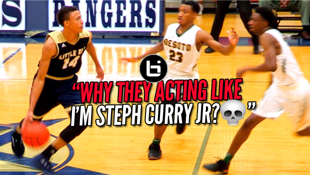 THEY DOUBLE TEAMED HIM LIKE STEPH CURRY JR? RJ Hampton vs Desoto Full Highlights