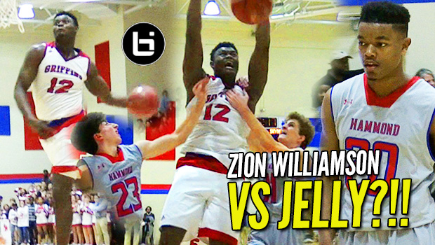 "Zion Williamson v Isaiah ""Not JellyFam"" Washington in Home Opener! Dunks His Way to Double-Double!"
