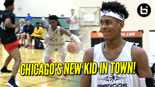 Adam Miller Putting Chicago on Notice! Big, Fast Guard!