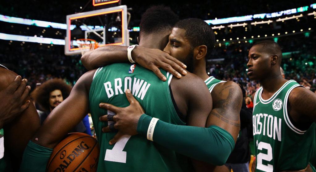 Jaylen Brown Dedicates Memorable Performance vs the Warriors To His Childhood Best Friend Who Passed Away