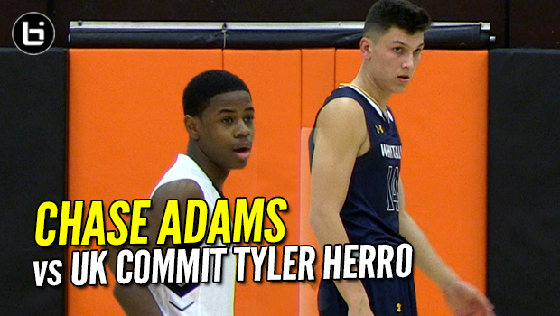Chase Adams 12 Assists vs UK commit Tyler Herro! #1 Chicago Orr Cruises! Full Highlights!