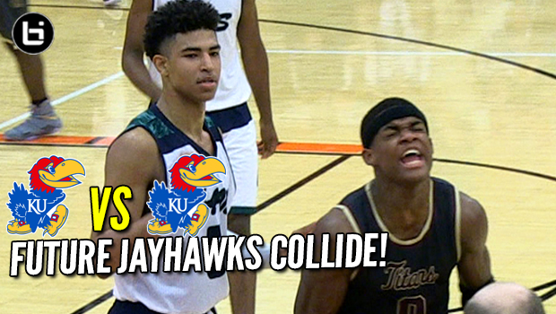 Future Kansas Jayhawks Duel! Quentin Grimes vs Markese Jacobs! Full Highlights!