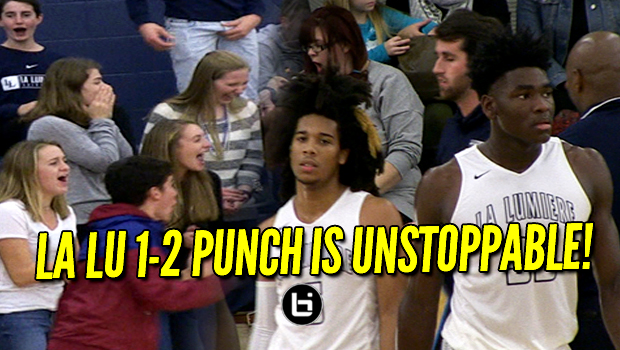 La Lumiere's Isaiah Stewart and Tyger Campbell are Heating Up! Full Game Highlights!