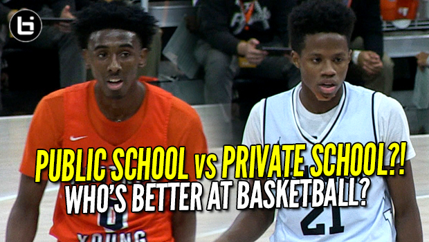 Top PUBLIC vs Top PRIVATE?! Javon Freeman (WHITNEY YOUNG) vs DJ Steward (FENWICK) Like Mike Highlights!