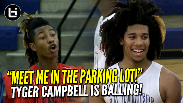 TRASH TALK Won't Stop Tyger Campbell or Isaiah Stewart in La Lumiere Blowout!