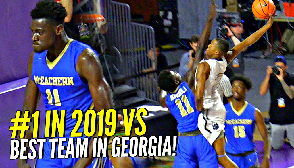 DUNKS ON EM THEN FLEXES ON EM! Scottie Lewis & Bryan Antoine vs WHOLE SQUAD OF D1 PLAYERS!!