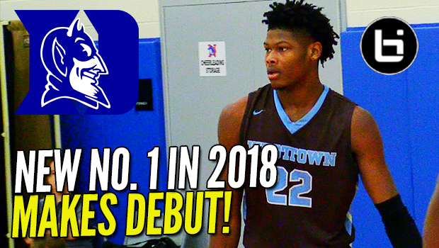 WALKING BUCKET! New no. 1 Duke Commit Cam Reddish Makes CFA Debut!