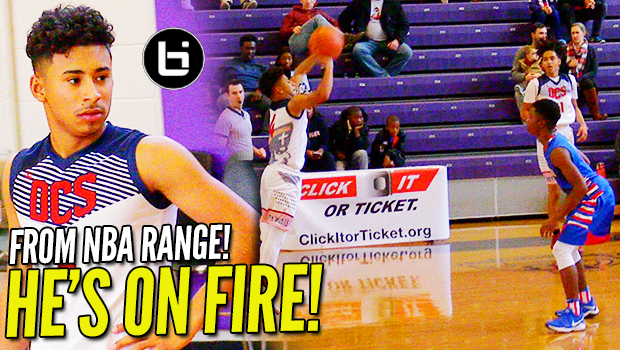 Julian Newman…FROM NBA RANGE! Drops 26 in Final Game of #TheJohnWall!
