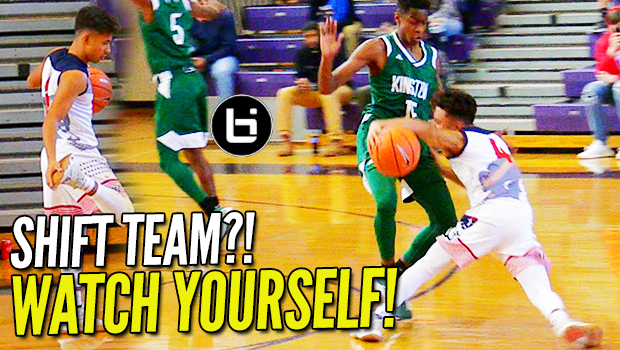 """""""FROM DEEP!"""" Julian Newman Gettin' SHIFTY & DROPPIN BOMBS on Day 2 of #TheJohnWall!"""
